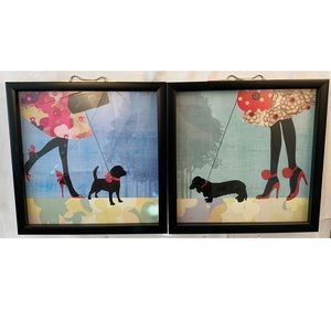 2 Girl's Best Friend Wall Art Decor New Picture